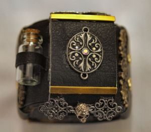 Steampunk Bracer View 5