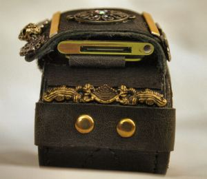 Steampunk Bracer View 4